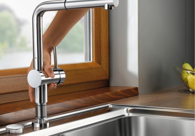blanco linus s f krom vt sgforma d o o. Black Bedroom Furniture Sets. Home Design Ideas