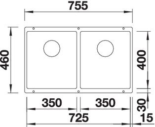 BLANCO SUBLINE 350 350 U