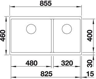 BLANCO SUBLINE 480 320 U