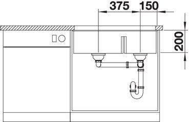 BLANCO SUBLINE 430 270 U..