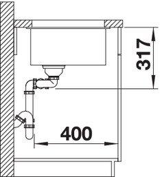 BLANCO SUBLINE 430 270 U.
